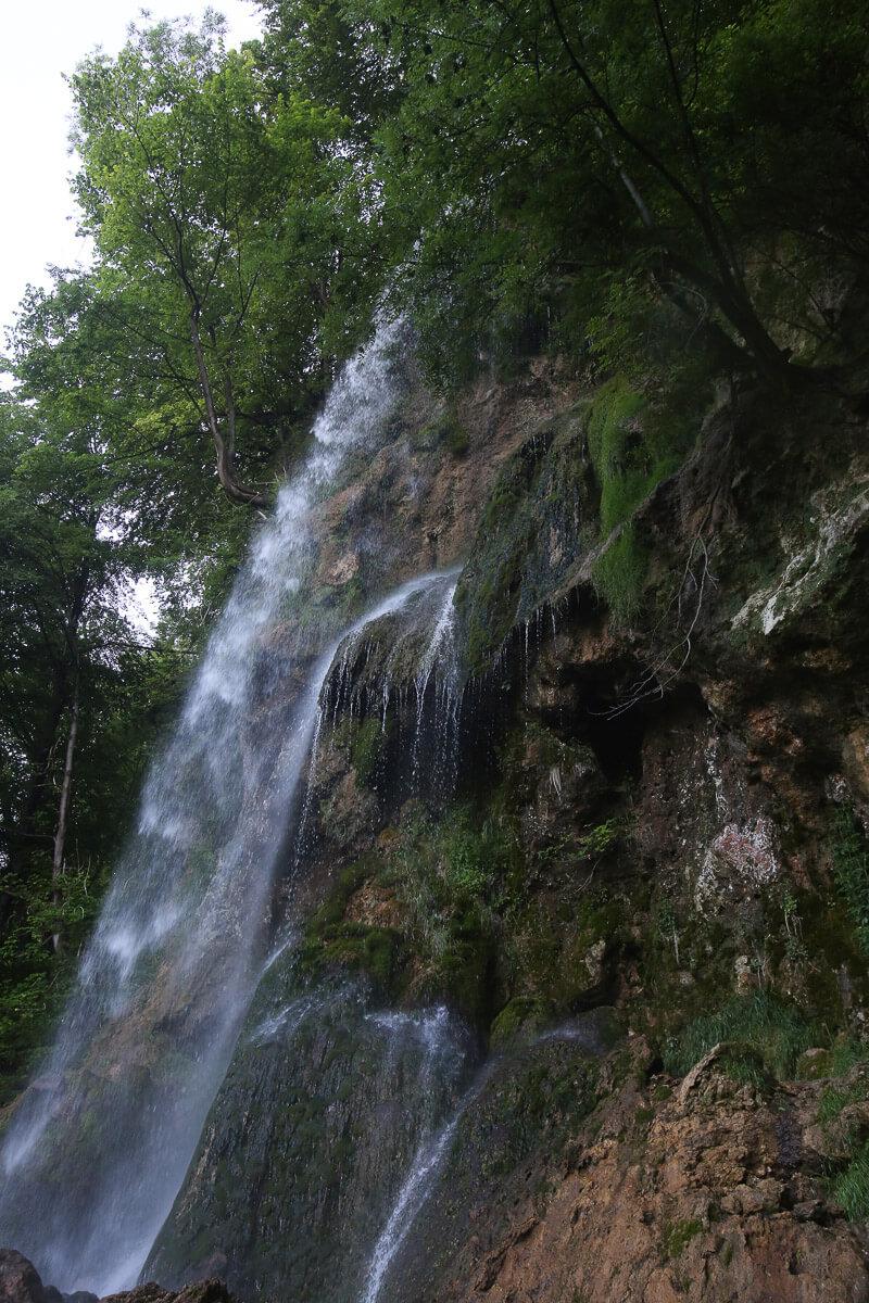 Der Uracher Wasserfall, ein schützenswertes Naturschauspiel. Foto: Bad Urach Tourismus