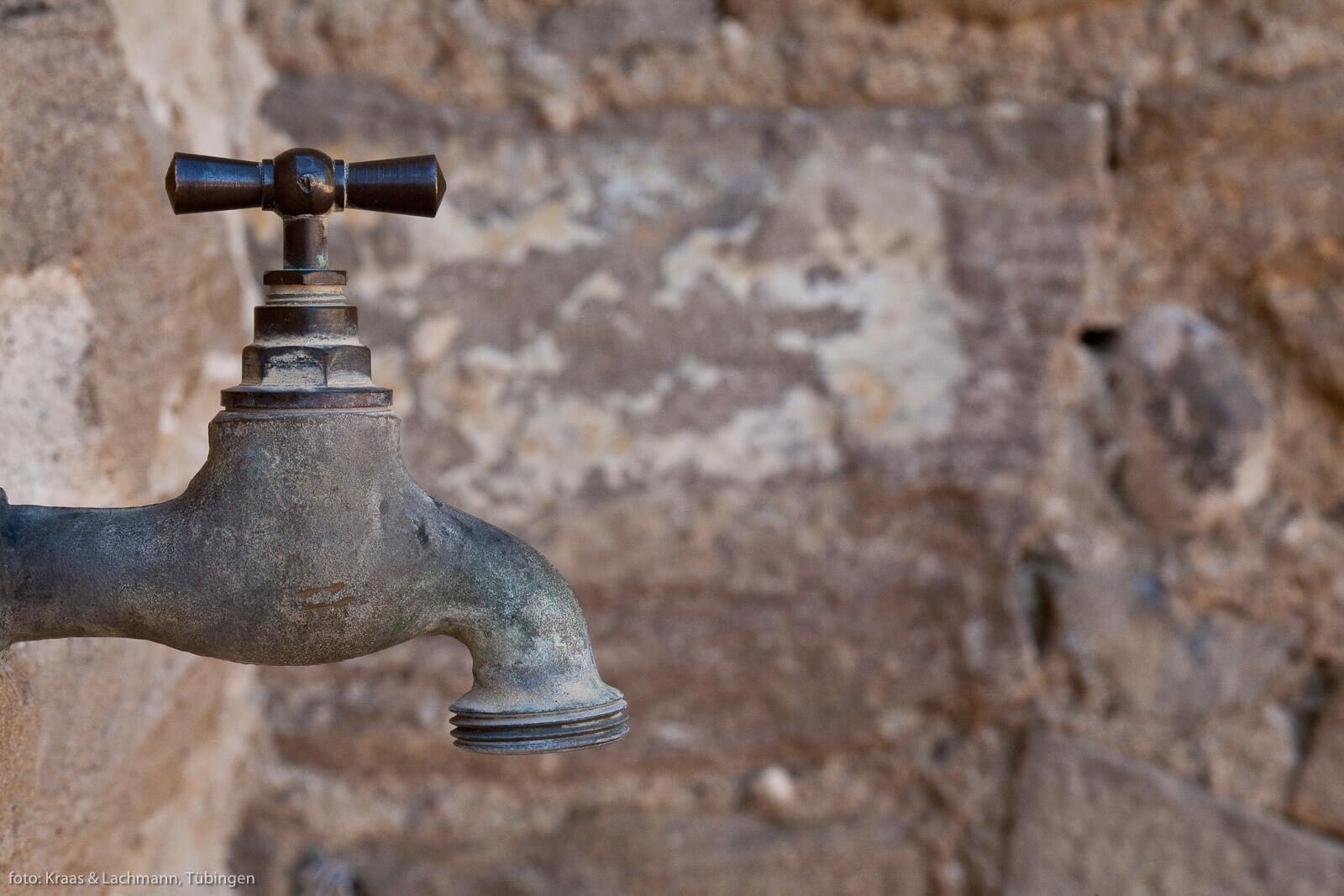 Ohne Wasser geht gar nichts