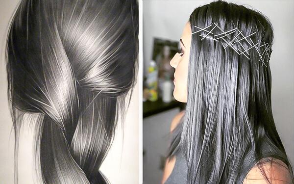 Haarfarben 2018 Charcoal Rose Peach Ihr Friseur In Reutlingen