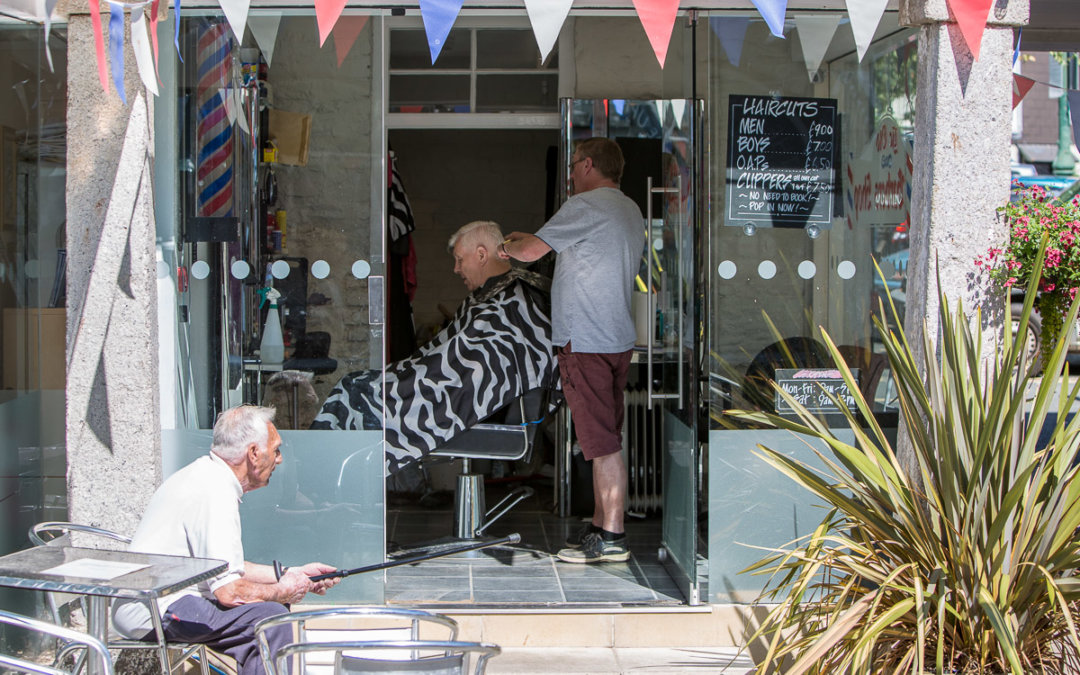 Open-Air-Friseur