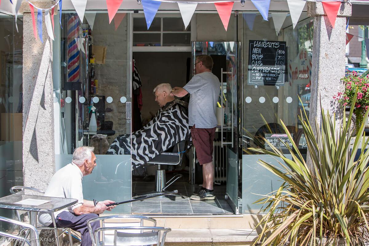 Haarpflege trotz Hitzewelle: gesehen von Norbert Kraas in Dartmouth, England
