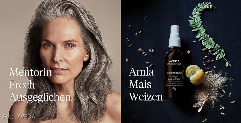 Bei Daniel Schmid Friseure: AVEDA-Pflegeprodukte für feines Haar. Wir beraten Sie gerne.