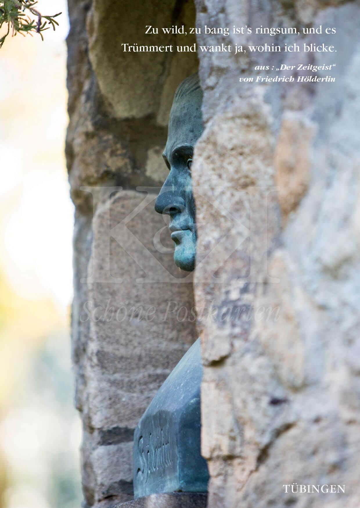 Am 20. März 2020 jährt sich Friedrich Hölderlins Geburtstag zum 250. Mal