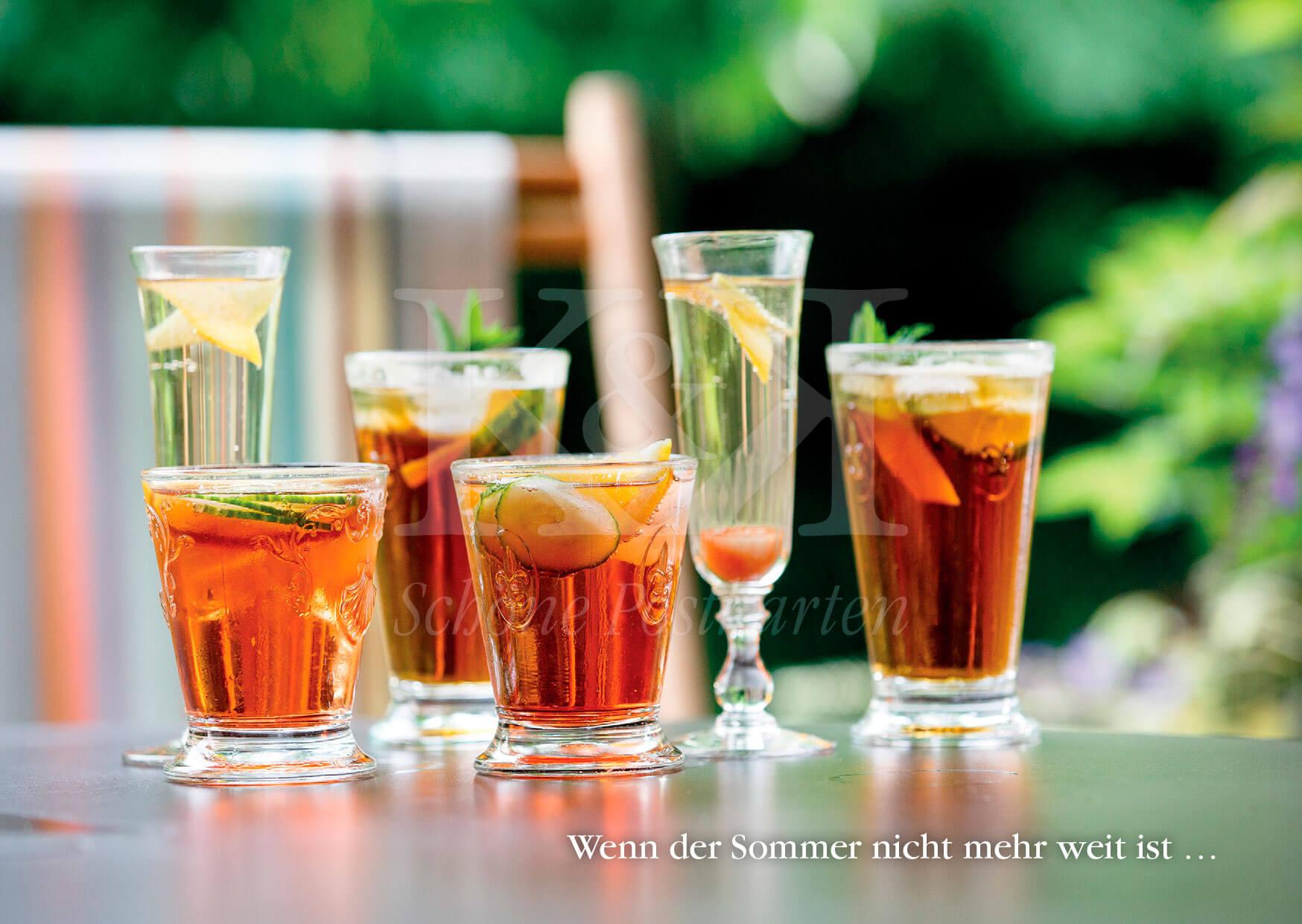 Wenn der Sommer nicht mehr weit ist | Schöne Postkarte Nr. 108 | © www.schoenepostkarten.de